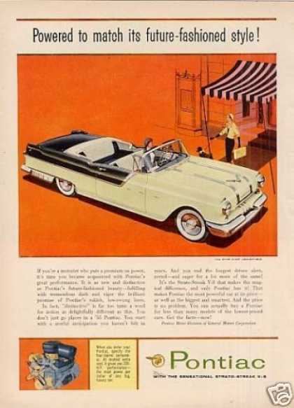Pontiac Star Chief Convertible Car (1955)