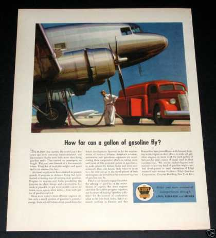 Ethyl Gas, Airliner, Fuel Truck (1941)