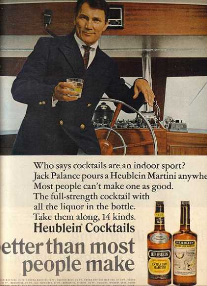 14 kinds of cocktails – Heublein (1966)