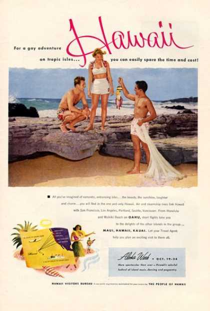 Hawaii Visitors Bureau Native Fishing (1953)