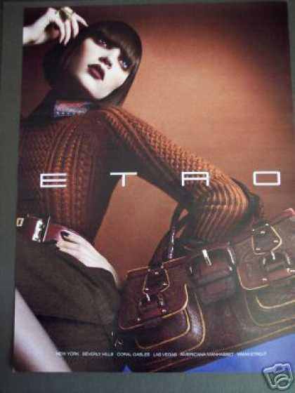 Etro Handbag Designer Bag Original Fashion