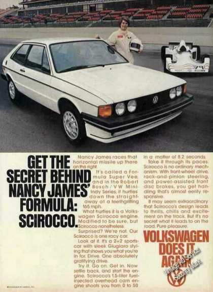 Vw Volkswagen Scirocco Nancy James Race (1978)