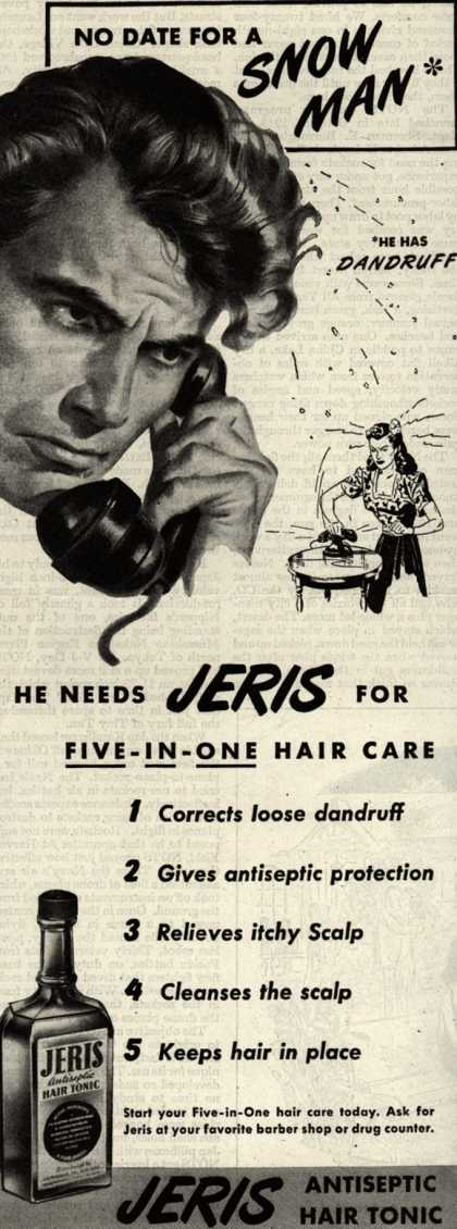 Jeri's hair tonic – No Date For A Snow Man (1946)