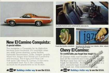 Chevrolet El Camino Conquista Photos (1973)