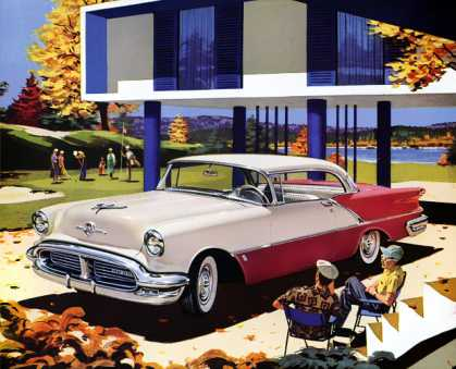 Oldsmobile 88 Holiday Coupe (1956)