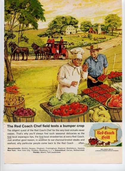 Red Coach Grill Chef Feild Testing Farm (1964)