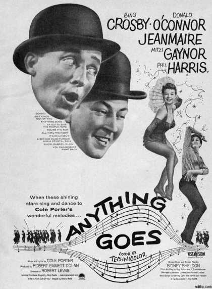 Paramount's Anthing Goes (1956)