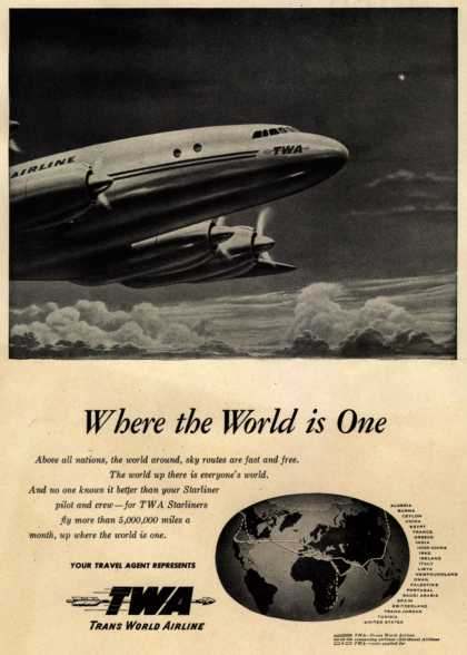 Trans World Airline's Starliner – Where the World is One (1947)