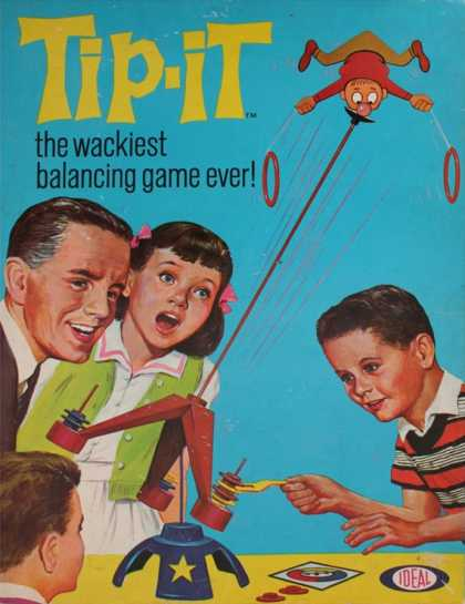 Tip-It, the Wackiest Balancing Game Ever