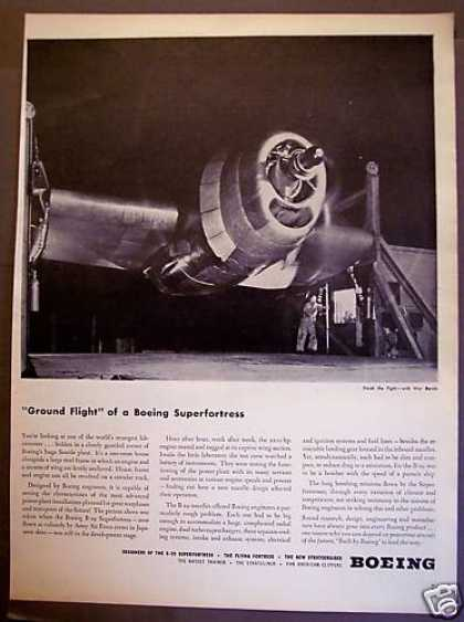 Boeing B-29 Superfortress Military Airplane (1945)
