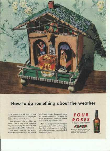 Four Roses Weather Whiskey (1944)