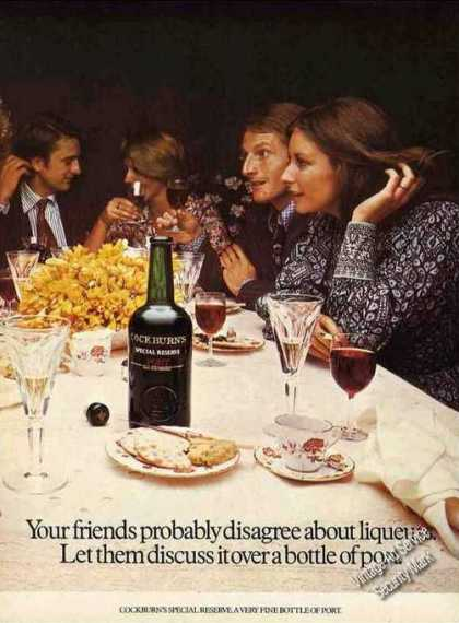 Cockburn's Special Reserve Port Wine Nice Uk (1974)