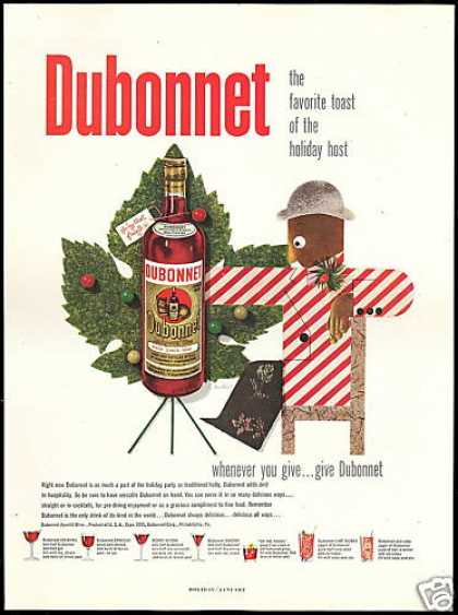 Dubonnet Apertif Wine Paul Rand Art (1951)