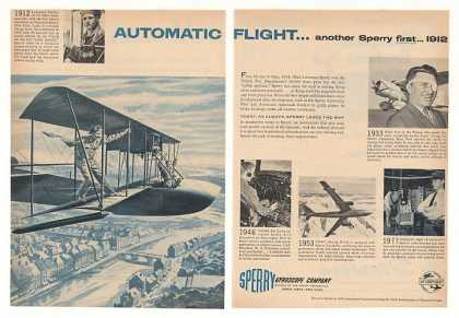 Sperry Gyroscope 1912 First Automatic Flight 2P (1953)