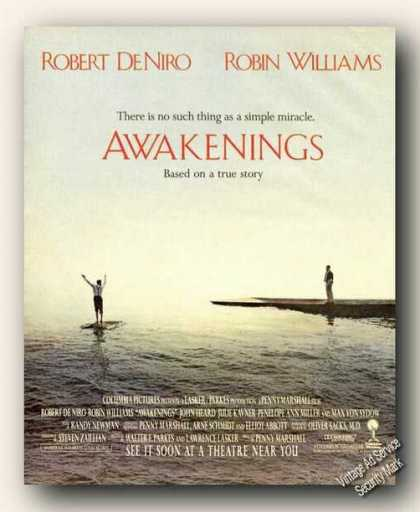 Robert Deniro/robin Williams/awaken (1990)