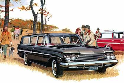 Rambler Ambassador V-8 Custom Cross Country (1961)