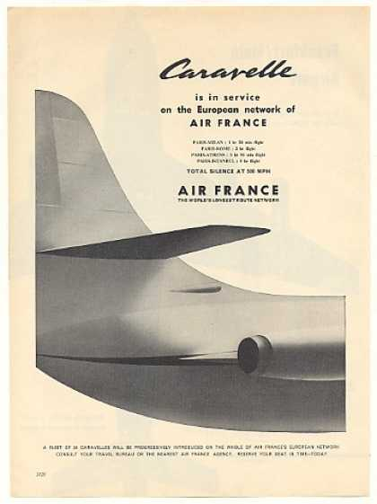 Air France Airlines Caravelle Aircraft (1959)
