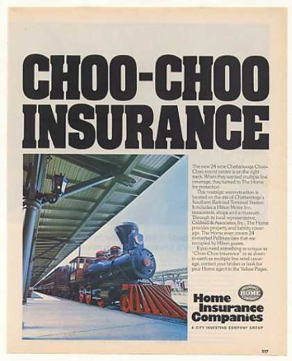 Chattanooga Choo-Choo Tourist Train Home Ins (1974)