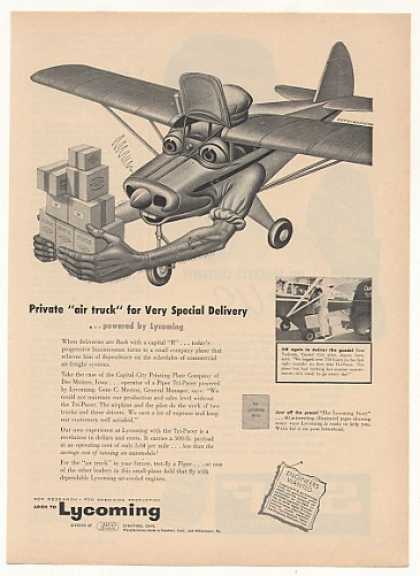 Air Truck Airplane Artzybasheff art Lycoming (1954)