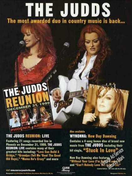 """The Judds Reunion"" Country Music Photo (2000)"