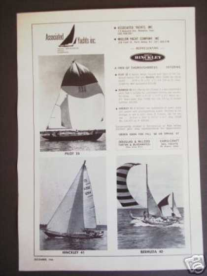 Associated Yachts Hinckley Sailboats (1966)