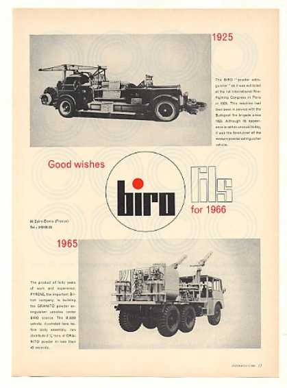 Biro Granito B 3000 Powder Extinguisher Vehicle (1966)