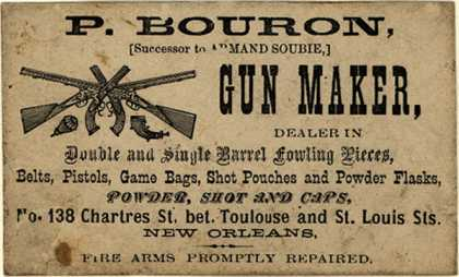 P. Bouron's Guns and accessories – P. Bouron (Successor to Armand Soubie) Gun Maker