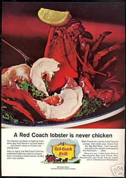 Red Coach Grill Maine Lobster Restaurant (1966)