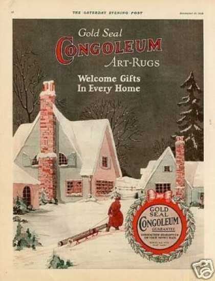 Congoleum Art-rugs Color (1924)