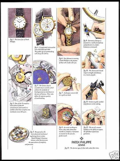 Patek Philippe Geneve Watch Features (1993)