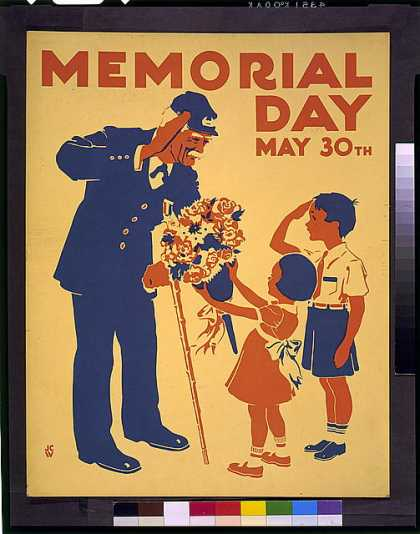 Memorial Day, May 30th / JCW. (1936)