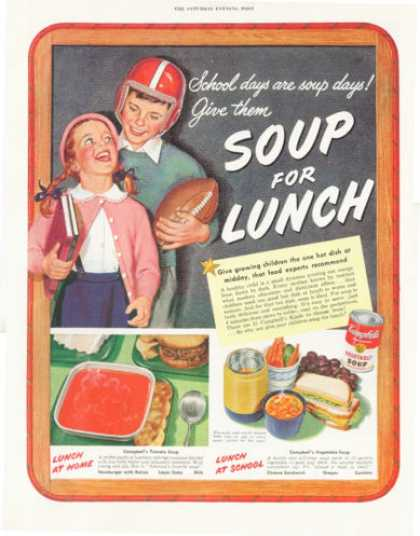 Campbell's Vegetable Soup Football (1952)