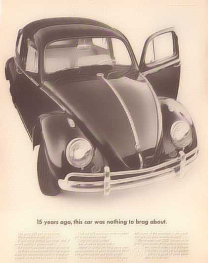 Volkswagon VW Bug – Sold (1962)