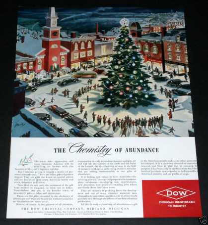 Old , Dow Chemical, Xmas Town Sqr (1939)