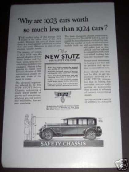 Stutz Motor Car W Safety Chassis (1926)