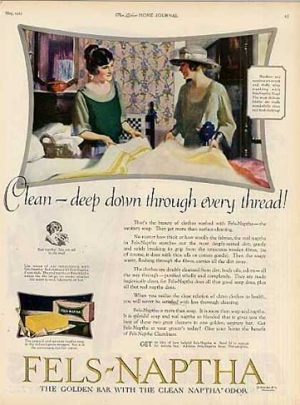 Fels-naptha Soap Color (1923)