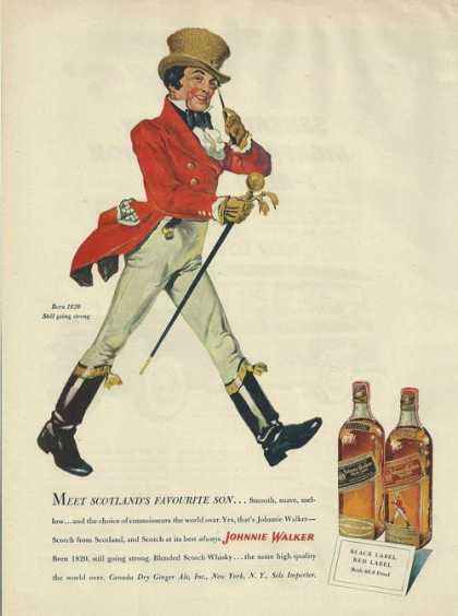 Johnnie Walker Scotlands Favourite Son (1950)