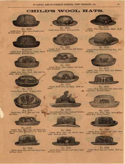 Wm. Reinerth & Co.'s wool hats – Child's Wool Hats