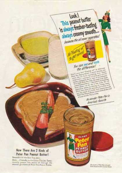 Peter Pan Peanut Butter – Derby Foods, Chicago (1948)