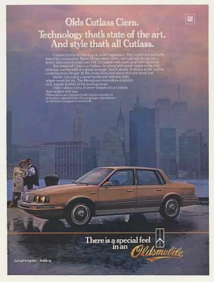 Oldsmobile Cutlass Ciera New York WTC Towers (1985)