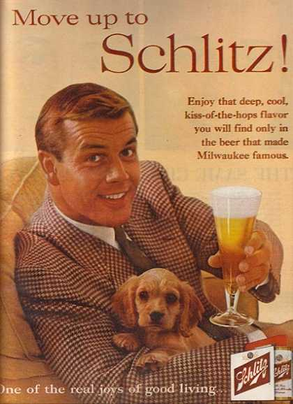 """Move up to Schlitz!"" (1960)"