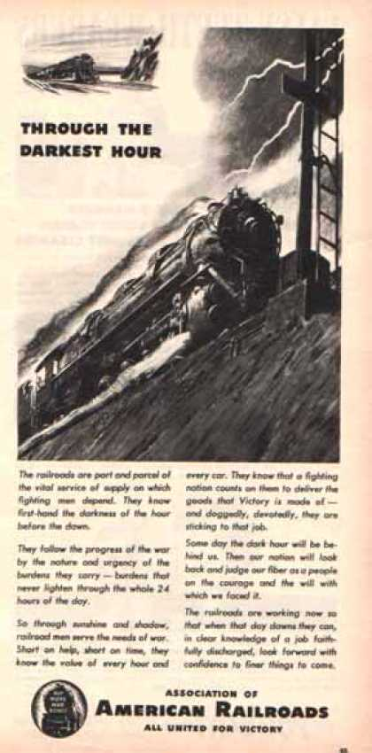 Association of American Railroads – War Time (1944)