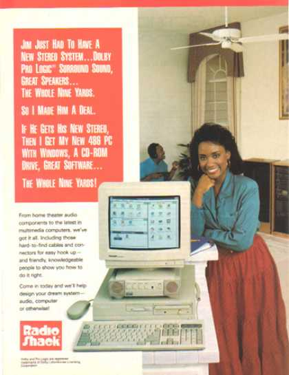 Radio Shack – The New 486 PC for (1993)
