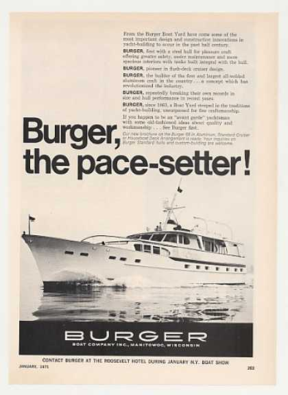 Burger 66 Yacht Boat Photo (1971)
