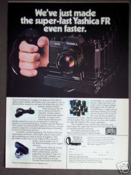 Yashica Fr Super Fast Camera (1977)