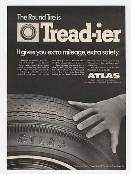 Atlas Round Tire is Treadier Tread-ier (1969)