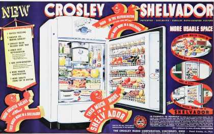 New Crosley Shelvador