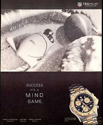 Downhill Bobsled Photo Tagheuer Watch Tag Heuer (1995)