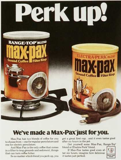 Max-Pax Ground Coffee Filter Rings