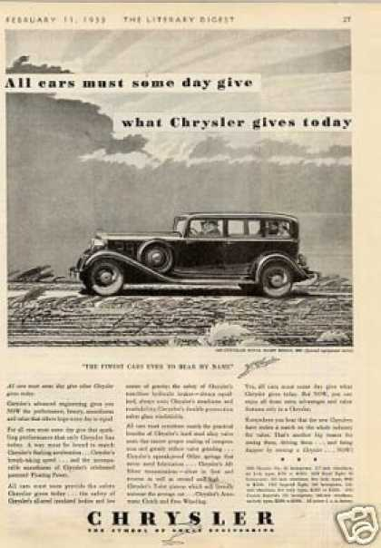 Chrysler Royal Eight Sedan (1933)
